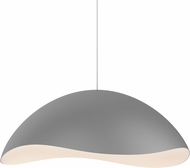 Sonneman 2673-18W Waveforms Modern Dove Grey LED Pendant Lighting