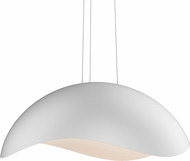 Sonneman 2674-03W Waveforms Modern Satin White LED Hanging Lamp
