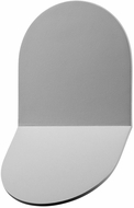 Sonneman 2712.74.WL Tab Contemporary Textured Gray LED Interior/Exterior Wall Sconce Lighting