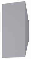 Sonneman 2716.74.WL Chamfer Contemporary Textured Gray LED Indoor/Outdoor Wall Sconce