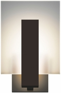 Sonneman 2724.72.WL Midtown Contemporary Textured Bronze LED Indoor/Outdoor Wall Lighting