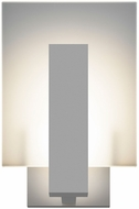Sonneman 2724.74.WL Midtown Modern Textured Gray LED Interior/Exterior Sconce Lighting