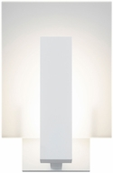 Sonneman 2724.98.WL Midtown Contemporary Textured White LED Indoor/Outdoor Light Sconce
