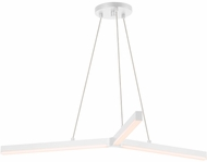 Sonneman 2773.03 Y Contemporary Satin White LED Hanging Light