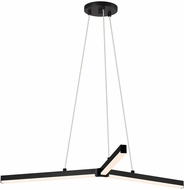 Sonneman 2773.25 Y Modern Satin Black LED Pendant Light Fixture