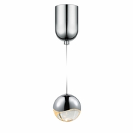 Sonneman 2911.01.MED Grapes Modern Polished Chrome LED Medium Mini Pendant Lamp