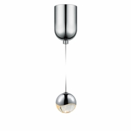 Sonneman 2911.01.SML Grapes Contemporary Polished Chrome LED Small Mini Hanging Lamp