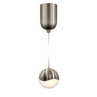Sonneman 2911.13.MED Grapes Contemporary Satin Nickel LED Medium Mini Pendant Light Fixture