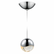 Sonneman 2912.01.LRG Grapes Contemporary Polished Chrome LED Large Mini Hanging Pendant Lighting