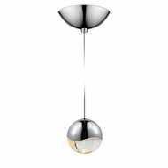 Sonneman 2912.01.MED Grapes Modern Polished Chrome LED Medium Mini Hanging Pendant Light