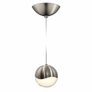 Sonneman 2912.13.LRG Grapes Modern Satin Nickel LED Large Mini Hanging Light Fixture