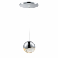 Sonneman 2913.01.MED Grapes Modern Polished Chrome LED Medium Mini Ceiling Pendant Light