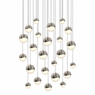 Sonneman 2918.13.AST Grapes Contemporary Satin Nickel LED Assorted Multi Lighting Pendant