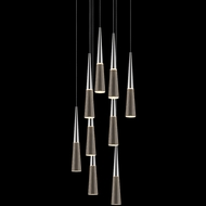 Sonneman 2944.01 Spire Polished Chrome LED Multi Pendant Lamp