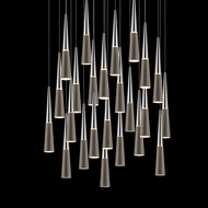 Sonneman 2946.01 Spire Polished Chrome LED Multi Hanging Light