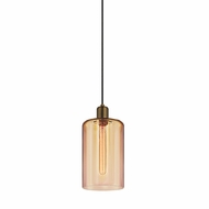 Sonneman 3191.21BZ Cloche Contemporary Retro Brass Mini Lighting Pendant