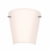 Sonneman 3300.13 Vogue Sconce Contemporary Satin Nickel Finish 11.5 Wide Wall Sconce