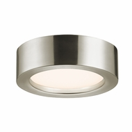 Sonneman 3723.13 Puck Slim Modern Satin Nickel Finish 2.5  Tall LED Home Ceiling Lighting