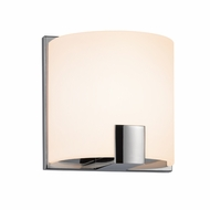Sonneman 3891.01LED C.Shell Contemporary Polished Chrome Finish 5  Wide LED Lighting Sconce