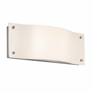 Sonneman 3911.01LED Oceana Contemporary Polished Chrome Finish 14  Wide LED Wall Sconce Lighting