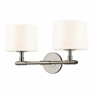 Sonneman 4951.35 Soho Contemporary Polished Nickel Finish 20.25  Wide Wall Light Sconce