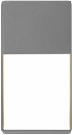 Sonneman 7200.74.WL Light Frames Modern Textured Gray LED Interior/Exterior Wall Light Sconce