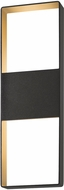 Sonneman 7204.72.WL Light Frames Contemporary Textured Bronze LED Indoor/Outdoor Wall Lamp