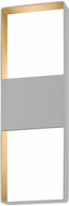 Sonneman 7204.74.WL Light Frames Modern Textured Gray LED Interior/Exterior Wall Lighting