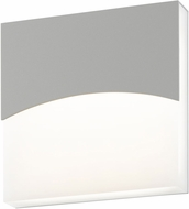 Sonneman 7216.74.WL Aku Contemporary Textured Gray LED Indoor/Outdoor Wall Sconce Lighting