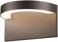 Sonneman 7226.72.WL Cusp Contemporary Textured Bronze LED Indoor/Outdoor Wall Light Fixture