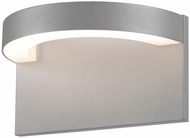Sonneman 7226.74.WL Cusp Modern Textured Gray LED Interior/Exterior Lighting Wall Sconce