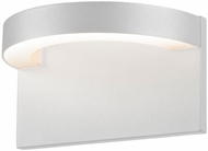 Sonneman 7226.98.WL Cusp Contemporary Textured White LED Indoor/Outdoor Wall Lighting Sconce