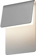 Sonneman 7230.74.WL Ply Modern Textured Gray LED Interior/Exterior Wall Light Sconce