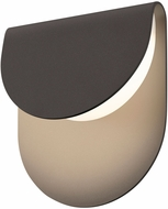 Sonneman 7232.72.WL Cape Modern Textured Bronze LED Interior/Exterior Wall Sconce