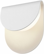 Sonneman 7232.98.WL Cape Modern Textured White LED Interior/Exterior Wall Lighting