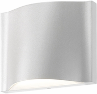 Sonneman 7238.98.WL Drift Modern Textured White LED Interior/Exterior Wall Lighting Fixture