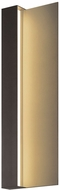 Sonneman 7250.72.WL Radiance Contemporary Textured Bronze LED Indoor/Outdoor Wall Lighting Sconce