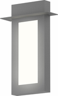 Sonneman 7270.74.WL Prairie Contemporary Textured Gray LED Outdoor Wall Lighting