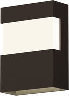 Sonneman 7280.72.WL Band Contemporary Textured Bronze LED Outdoor Wall Mounted Lamp