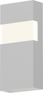 Sonneman 7282.98.WL Band Modern Textured White LED Exterior Wall Sconce