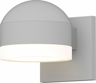 Sonneman 7300.DC.FW.98.WL REALS Modern Textured White LED Exterior Wall Lamp