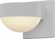 Sonneman 7300.PC.DL.98.WL REALS Modern Textured White LED Exterior Wall Sconce Lighting