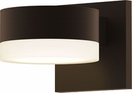 Sonneman 7300.PC.FW.72.WL REALS Modern Textured Bronze LED Exterior Wall Sconce Lighting