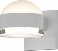 Sonneman 7302.DL.FH.98.WL REALS Contemporary Textured White LED Outdoor Lighting Sconce
