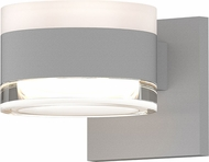 Sonneman 7302.FW.FH.98.WL REALS Contemporary Textured White LED Outdoor Wall Mounted Lamp