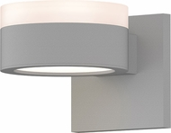 Sonneman 7302.FW.PL.98.WL REALS Contemporary Textured White LED Outdoor Wall Lamp