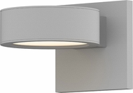 Sonneman 7302.PL.PL.98.WL REALS Contemporary Textured White LED Outdoor Wall Light Sconce