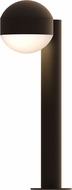 Sonneman 7303.DC.DL.72.WL REALS Modern Textured Bronze LED Exterior Landscape Lighting