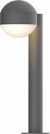 Sonneman 7303.DC.DL.74.WL REALS Contemporary Textured Gray LED Outdoor Landscape Light