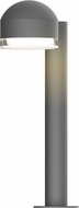 Sonneman 7303.DC.FH.74.WL REALS Contemporary Textured Gray LED Outdoor Pathway Lighting